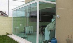 Fechamento vidro temperado