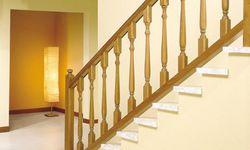 Guarda corpo escada madeira