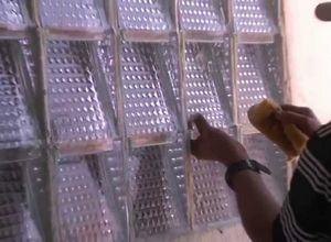bloco de vidro cec