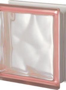 tijolo de vidro rosa