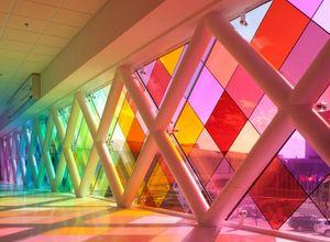 vidro colorido