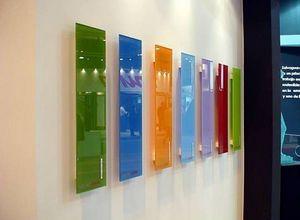 vidro temperado colorido