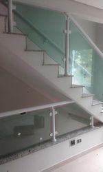 Corrimão com vidro temperado
