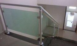 Corrimão de vidro para escada preço