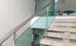 Guarda corpo da escada