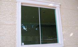 Janela de vidro temperado blindex