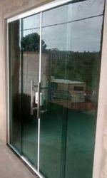 Porta janela vidro temperado
