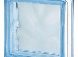 bloco de vidro azul preço