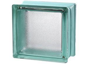 bloco de vidro verde