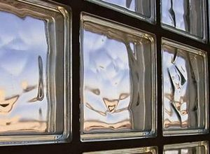 caixa de tijolo de vidro