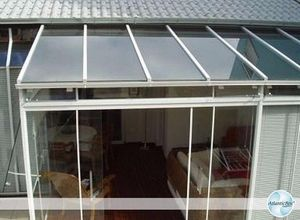 cobertura de vidro laminado