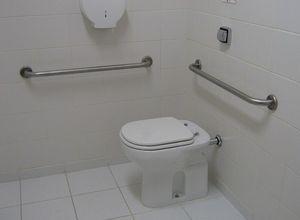 corrimão para banheiro