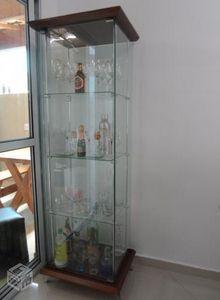 cristaleira vidro temperado