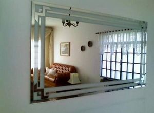 espelho jateado