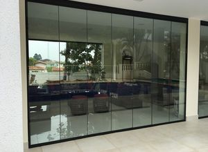 fechamento com vidro