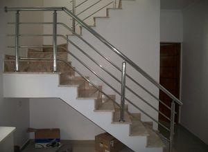guarda corpo de alumínio para escada