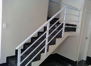 guarda corpo de escada em ferro