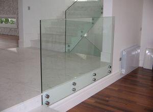 parapeito em vidro