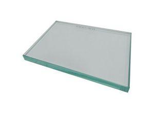 placas de vidro
