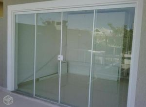porta de correr vidro temperado