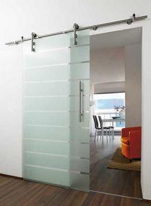 porta de vidro área serviço