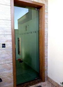 porta de vidro blindex bh