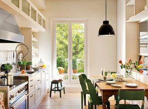porta de vidro para cozinha