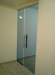 porta de vidro preço bh