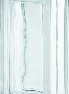 tijolo de vidro incolor