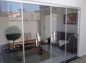 vidraçaria porta de vidro