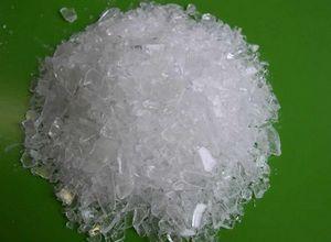 vidro matéria prima