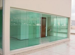 vidro porta