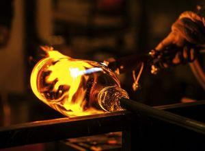 vidro produção