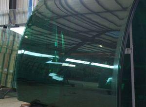 vidro temperado curvo