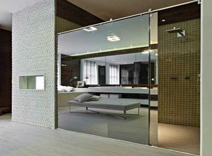 vidro temperado espelhado