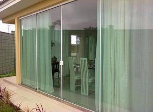 vidro temperado porta